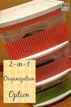 Technology Organization Option When you have a classroom of technology devices, you are left to figure out how you will get them organized so that they are in an orderly manner.