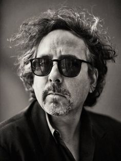 Tim Burton (by Sebastian Kim)  is an American film director, film producer, writer, poet, and stop motion artist. He is known for his dark, gothic, macabre and quirky horror and fantasy films.