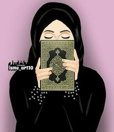 The scarf is central to the part from the clothing of women with hijab. Because it is the most essential item Girly M, Cartoon Girl Images, Cute Cartoon Girl, Girly Drawings, Art Drawings For Kids, Dc Superhero Girls Dolls, Muslim Images, Hijab Drawing, Islamic Cartoon