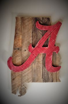 Home Sign With State Alabama 29 Trendy Ideas Alabama Decor, Sweet Home Alabama, Alabama Crafts, Alabama Crimson Tide, Diy Pallet Projects, Wood Pallets, Pallet Wood, Wood Art, Wood Crafts