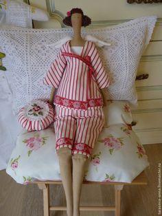 """Куклы Тильды ручной работы. Ангел в пижаме 67 см. """"АСТРА """"     Анна  Тарасова. Ярмарка Мастеров. Тильда кукла"""