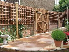 wooden fencing ideas brick wood fence patio fence ideas privacy fence