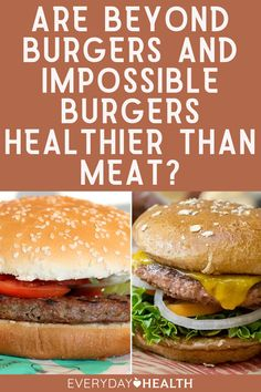Meatless burgers are all the rage these days, but if they're better for you than real meat is a question.