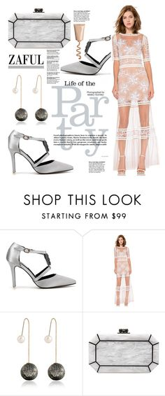 """""""Zaful.com: Life of the party!"""" by hamaly ❤ liked on Polyvore featuring Edie Parker"""
