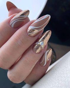 Elegant Nails, Classy Nails, Fancy Nails, Stylish Nails, Simple Nails, Trendy Nails, Pink Nails, Cute Nails, Nail Manicure