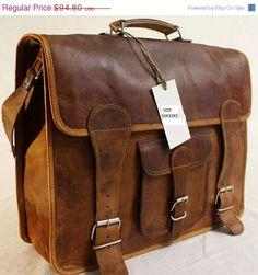 bag leather laptop bag messenger