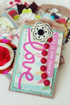 17 Best images about Scrapbooking/paper crafts on Pinterest | Mini ...