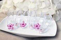 Cinderella Slipper w/ Acrylic Flower Cake by PartyGurlShoppe, $6.00