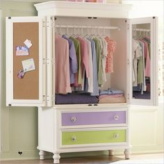 Gentil Youth Bedroom   Pawsitively Yours   Armoire   634120   Armoire   Pulaski  Furniture   Home Meridian International. This Can Be Done With Any Armoire  ...
