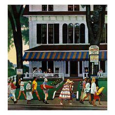 80 Illustrations By John Falter Ideas Saturday Evening Post Covers Saturday Evening Post Norman Rockwell