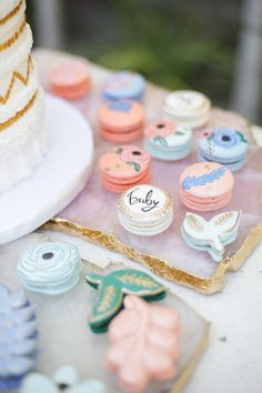 Celebrate baby's upcoming arrival with beautiful sweet treats for your upcoming baby shower celebration.