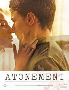 See Movie, Atonement, Classic Movie Stars, James Mcavoy, Original Movie Posters, Period Dramas, Good Movies, Comebacks, Actors & Actresses