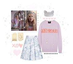 """""""Steal Her Style: Scream Queens Chanel #5 ♡"""" by xx-isabella-xx on Polyvore featuring Eugenia Kim, ASOS, Markus Lupfer and Topshop"""