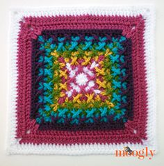 Block #12 for the Moogly Afghan CAL - by Stitches N Scraps!  #diy #pattern #crochet #crafts #blanket #mooglycal #christmas