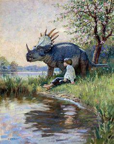 art by James Gurney (author/illustrator of Dinotopia)