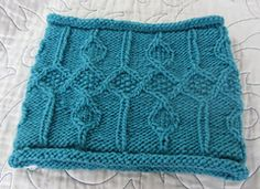 Ravelry: Frozen Spires Cowl pattern by Beverly S.