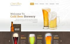 Hot Beer - #responsive, #modern & absolutely beautiful #Joomla #template from #drink category.
