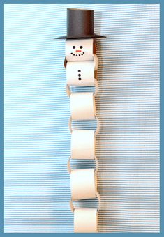 Paper Chain Snowman Christmas Countdown is part of Snowman crafts Paper - Now that Thanksgiving is over, we're really starting to prepare for the rest of the holiday season As of now our tree is up, Christmas decorations have Winter Activities For Kids, Winter Crafts For Kids, Christmas Activities, Christmas Projects, Christmas Ideas, Christmas Crafts For Kids To Make At School, Simple Christmas Crafts, Christmas Paper Crafts, Simple Crafts