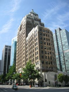 Marine Building - #Vancouver, #Canada » Modern & Classic #Architecture