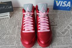 valentine's day jordan 5 footlocker