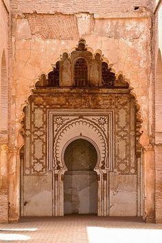 Arte ALMOHADE. mezquita del Tinmal, Marruecos.