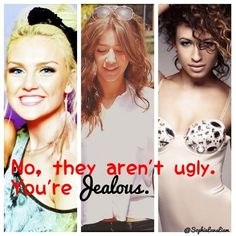 I love them! They're perfect the way they are, and no directioner wants to see them change. :))))