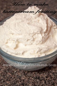 How to make Buttercream Icing as delicious as a Bakeries!  http://www.midgetmomma.com/?p=57847