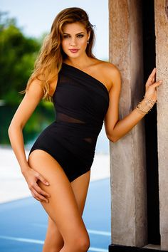 21118cb4f63 Miraclesuit Solid Jena #363015 Click Here to buy: http://www. Black  SwimsuitOne Piece ...