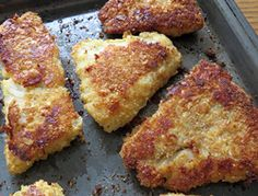 A crispy fried fish without the mess of frying it in oil on the stovetop. A quick and easy way to prepare a batch of tasty fish.