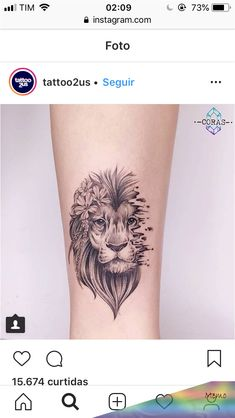Super Tattoo Lion Minimalist Ideas - My list of best tattoo models Leo Tattoos, Mini Tattoos, Trendy Tattoos, Forearm Tattoos, Cute Tattoos, Beautiful Tattoos, Body Art Tattoos, Small Tattoos, Tattoos For Guys