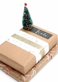 brown paper parcels for christmas