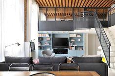 Un taller de seda convertido en un apartamento en Lion