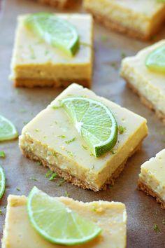 Key Lime Pie Bars | lifemadesimplebakes.com