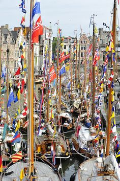 Attractive Ghent http://www.travelandtransitions.com/european-travel/