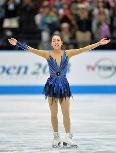 フィギュアスケートの日本、北米、欧州の3地域対抗団体戦、ジャパン・オープンは5日、さいたまスーパーアリーナで行われ、日…