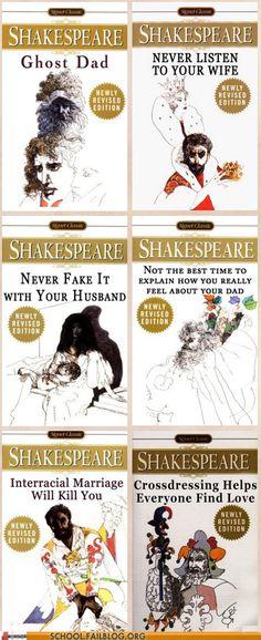 Honest Shakespeare is the Best Shakespeare