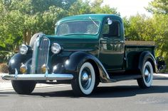 1937 Plymouth.