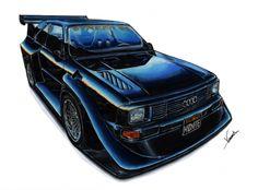 European car render by Vicent Sugin