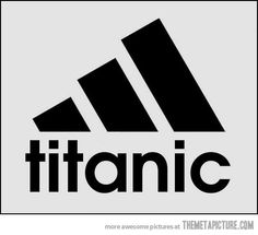 What I see when I look at the Adidas logo…