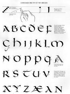 claude-mediavilla-calligraphie-onciale