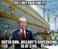 Yep, they paid for it . . . | Donald Trump
