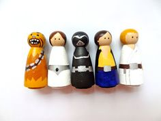 By popular request, I've had a bash at my first set of Star Wars peg people. To start, I've chosen Chewbacca, Princess Leia, Luke Skywalker,...