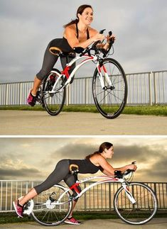 Designer John Aldridge has created the 'Bird of Prey' bicycle. Not your normal bike, the 'Bird of Prey' is a prone or semi-prone bike, meaning that you're lying down and face forward, instead of sitting down on a bike or in a laid-back reclining or recumbant position.