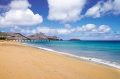10 Things You Don't Know About Madeira, Portugal - via Clickstay 01.04.2016 | Madeira is without a doubt one of the most beautiful islands in the world... its dramatic, unexplored landscapes and year-round, warm climate makes it an enviable holiday destination in Portugal. Photo: Porto Santo Beach Madeira
