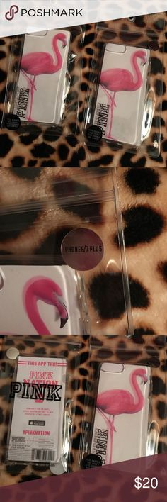 📱Victoria's Secret PINK iPhone 6/7plus case📱 NIP! I only have 1 left. VS PINK cases can be hard to find for 6/7 plus iPhones ..no worries cos I've got you covered! This case is so cute. It's clear and features a pink flamingo standing on one leg with a bold PINK logo next to it. It's made of durable, yet flexible, thick plastic. I use the same case on my phone and I love it! I have dropped my phone before and it has protected it from damage, while also being easy to take on and off. Price…
