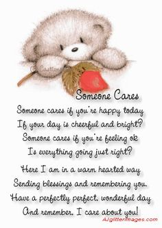 Someone Cares Pictures, Photos, and Images for Facebook, Tumblr, Pinterest, and Twitter