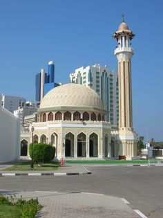 Mosque of Fort Al Hosn in Abu Dhabi, UAE