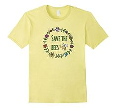 Mens Save The Bees Inspirational T-Shirt For Nature Lover... https://www.amazon.com/dp/B06Y13CS5V/ref=cm_sw_r_pi_dp_U_x_86VPAbX0KPW8M