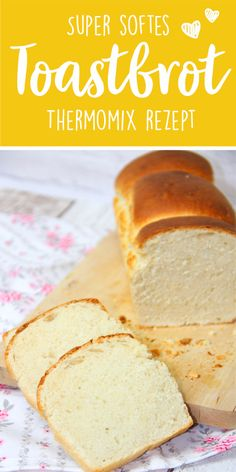♥ Super soft toasted bread ♥ Quickly from the Thermomix-♥ Super softes Toastbrot ♥ Ruck Zuck aus dem Thermomix This super soft toast is not only quick … - Tostadas, Sandwiches, Easy Cake Recipes, Pasta Recipes, Crockpot Recipes, Yummy Recipes, Keto Recipes, Cooking Recipes, Food Cakes