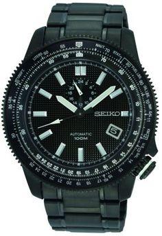 Seiko SSA007K1 black watch